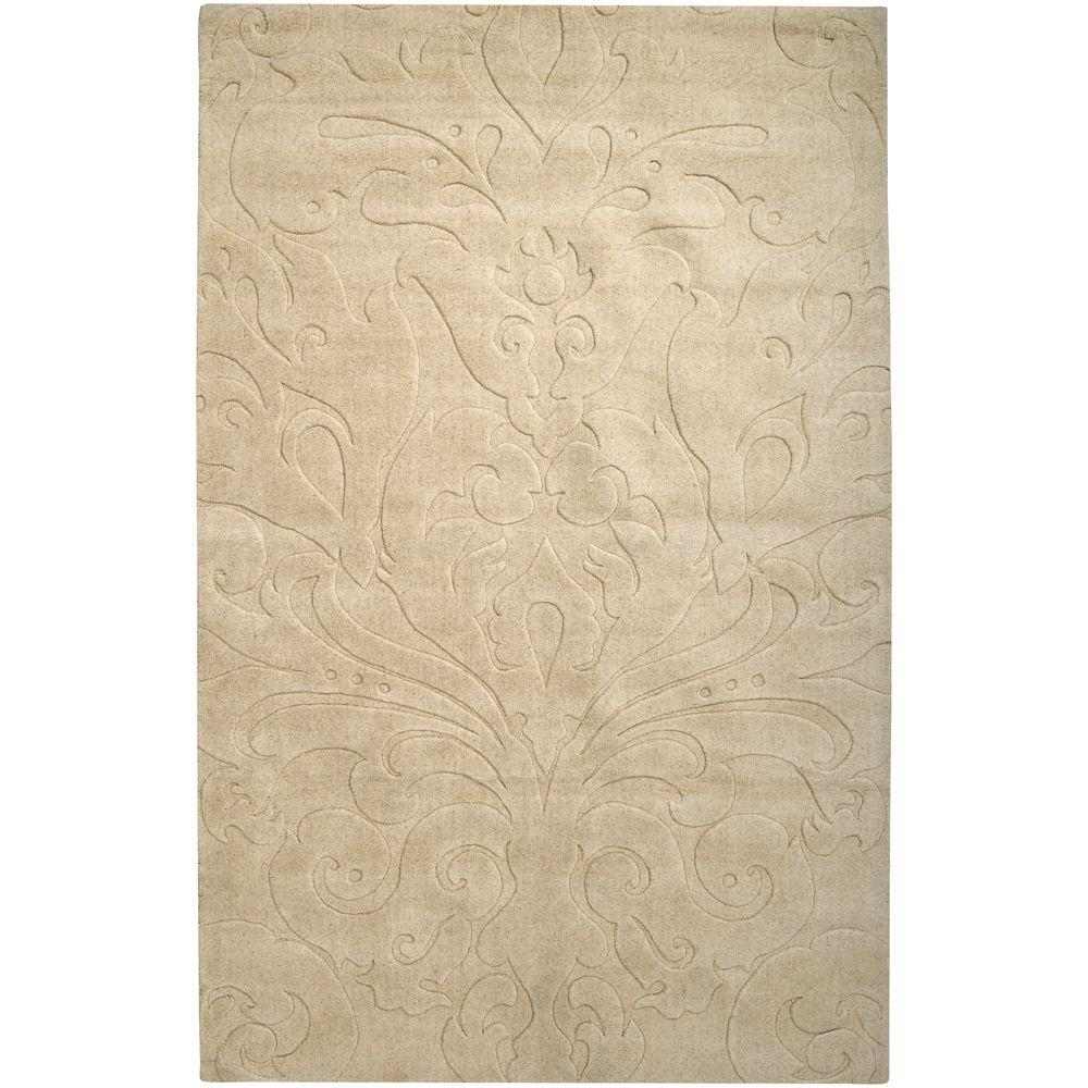 Candice Olson Beige 9 ft. x 13 ft. Area Rug