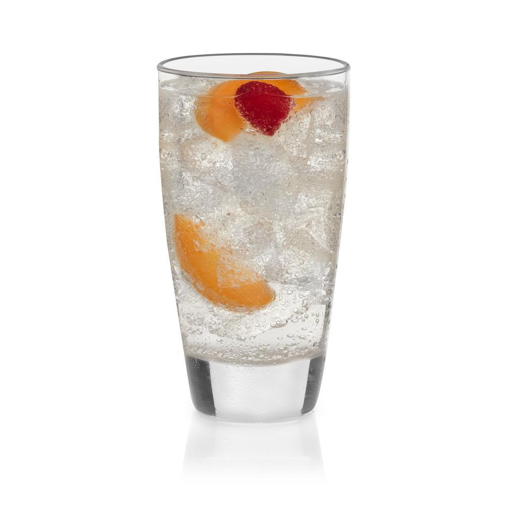 Classic 18 oz. 4-piece Cooler Glass Set
