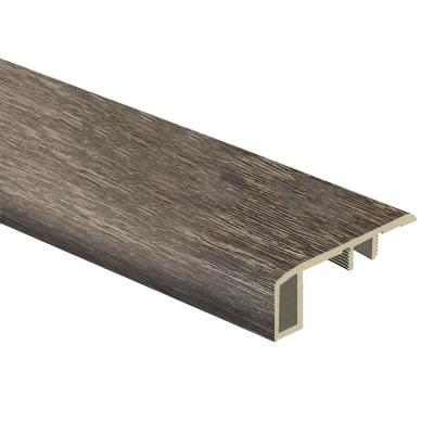 Commonwealth Oak 7/16 in. Thick x 1-3/4 in. Wide x 72 in. Length Vinyl Carpet Reducer Molding