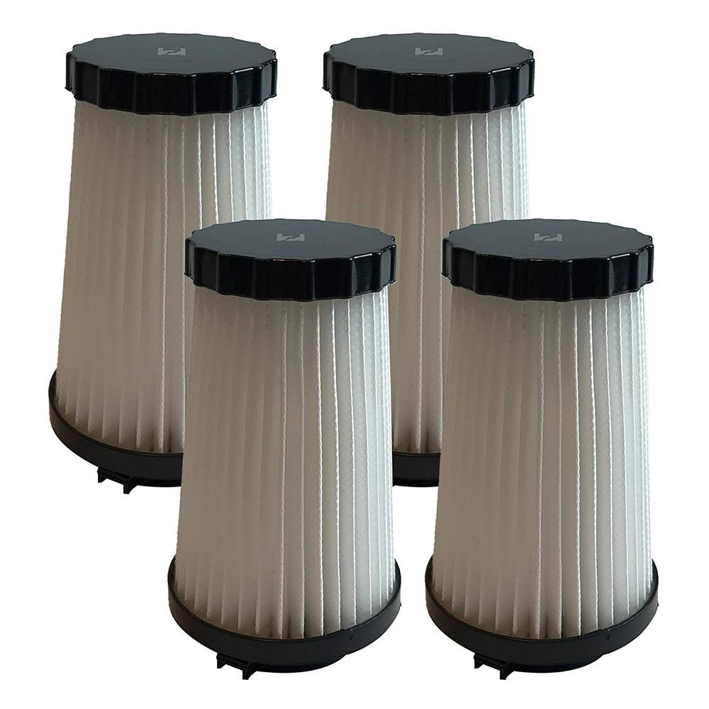 Think Crucial 4-Pack Replacement F2 Filters, Fits Dirt Devil, Compatible with Part 3SFA11500X