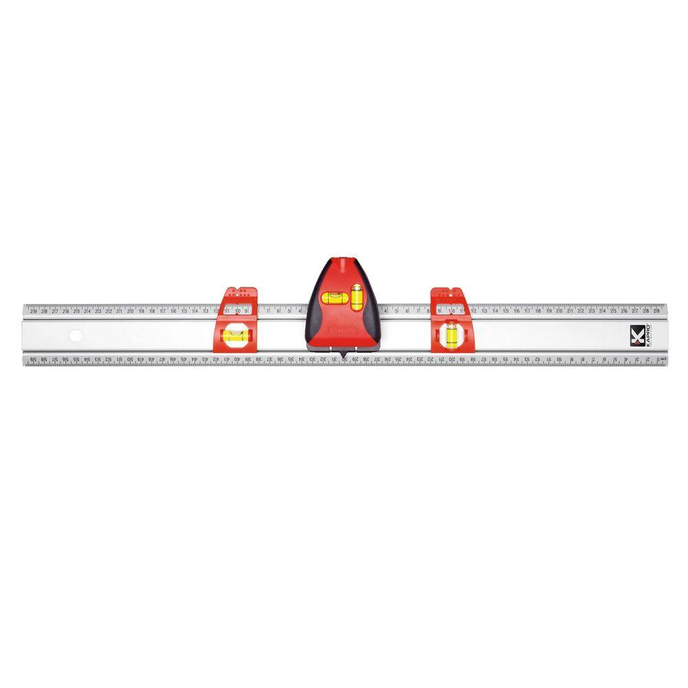 Pro Laser Set-A-Shelf 36 in. Set and Match with Laser Line