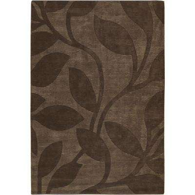 Pernille Brown 8 ft. x 11 ft. Indoor Area Rug