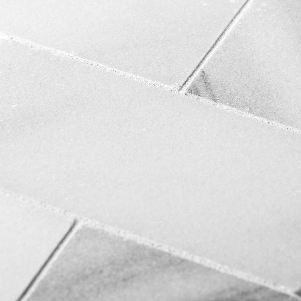 Jeffrey Court Carrara White 3 in. x 6 in. Honed Marble Wall Tile (1 sq. ft. / pack)