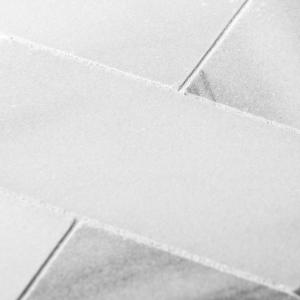 Carrara White 3 in. x 6 in. Honed Marble Wall Tile (1 sq. ft. / pack)