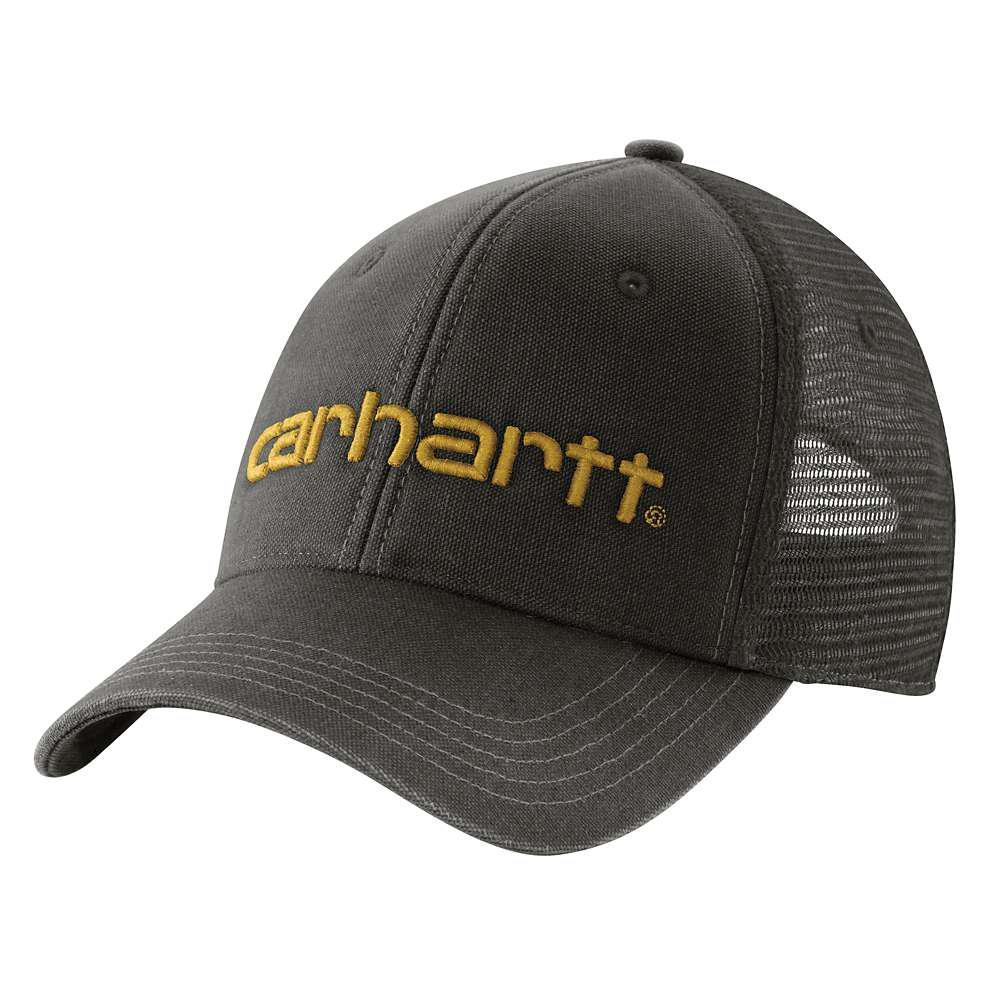 bcecb6c81d8 Carhartt Men s OFA Coal Heather Acrylic Knit Hat with Visor-A164-CLH ...