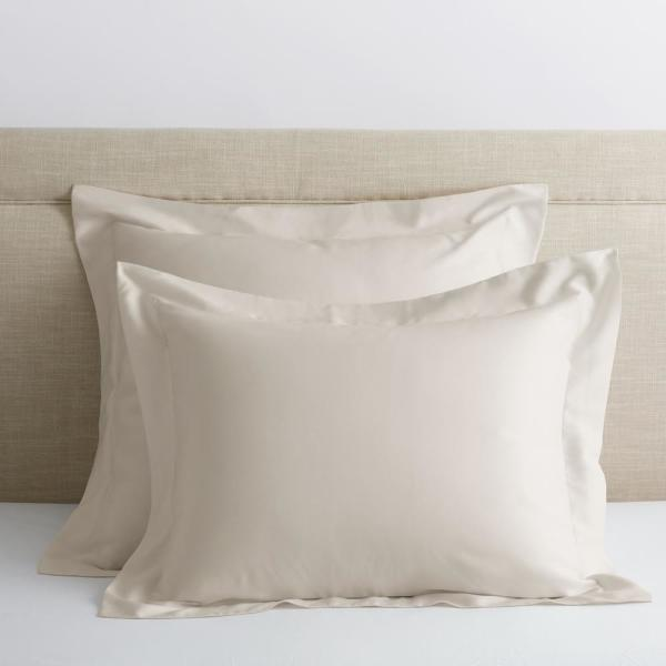 Legends Hotel Buff 300-Thread Count TENCEL Lyocell Sateen Euro Sham