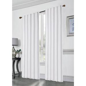 Stacy 84 inch L Polyester Double Layered Rod Pocket with Thermal Lining Window Curtain... by
