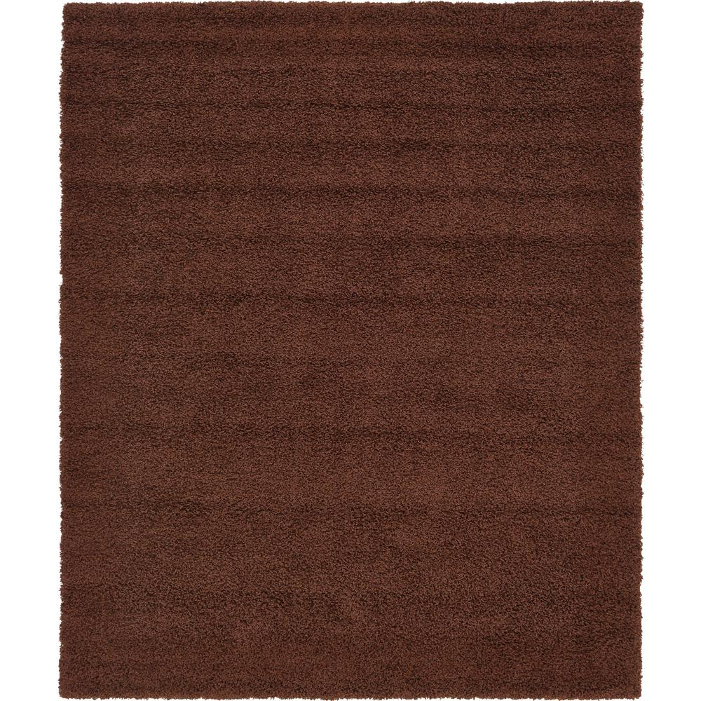 Unique Loom Solid Chocolate Brown