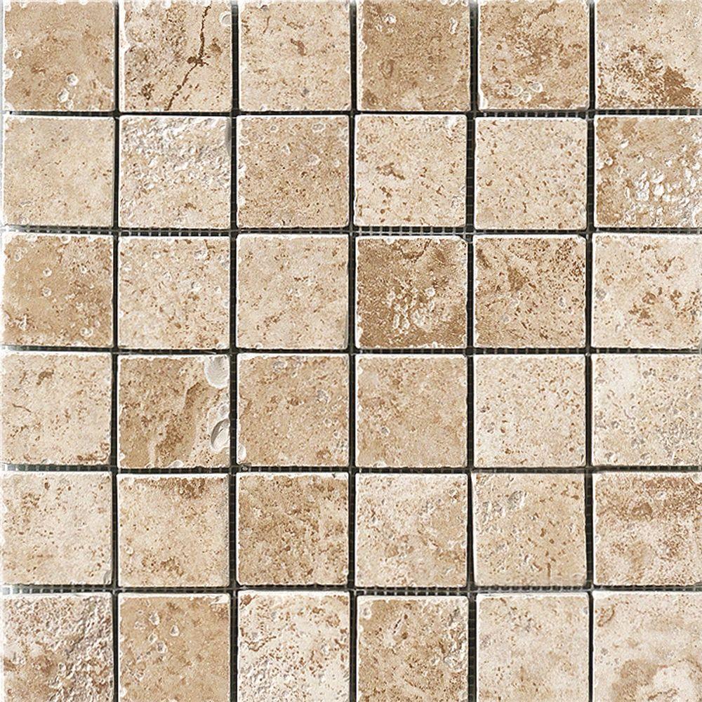 Marazzi Montagna Cortina 12 In X 8 Mm Porcelain Mosaic Floor