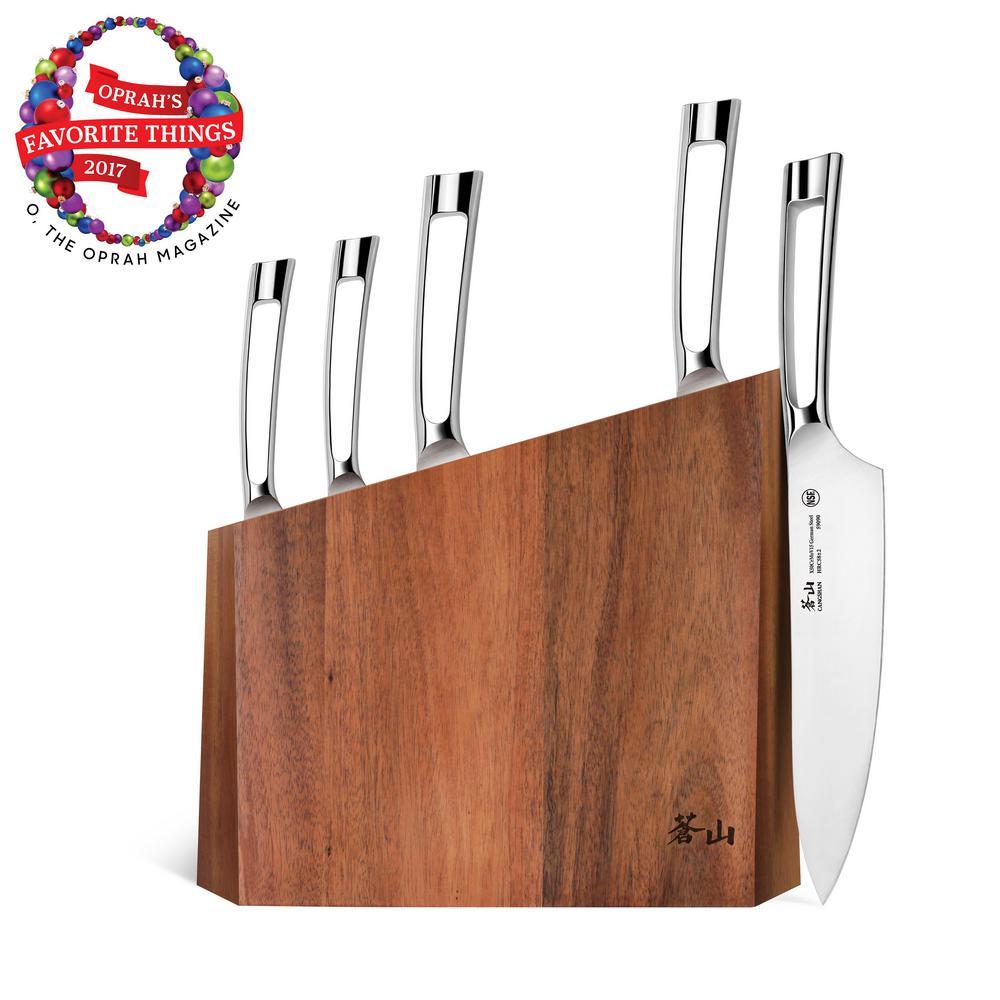 N1 Series6-Piece German Steel Forged Knife Block Set