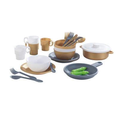 KidKraft Modern Metallics Cookware Set (27-Piece)