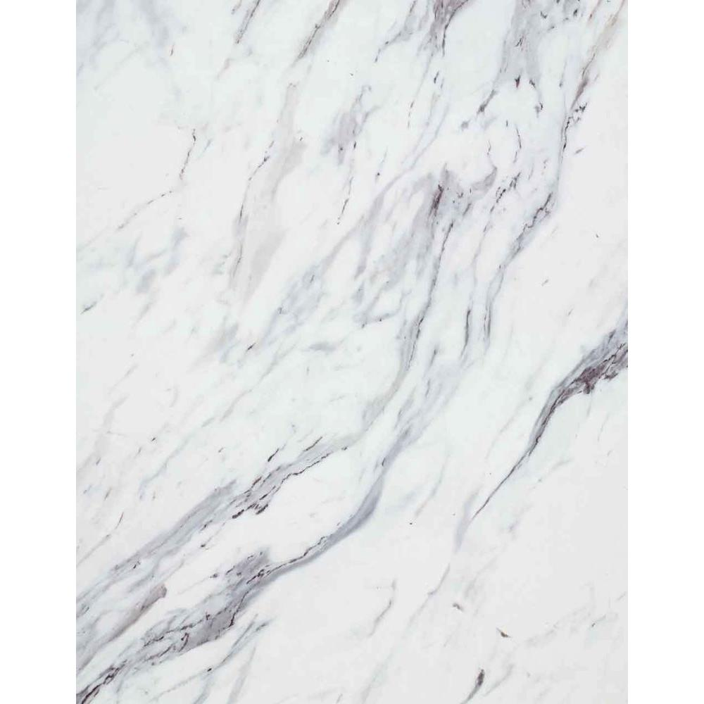 Wilsonart 8 in. x 10 in. Laminate Sample in Calcutta Marble