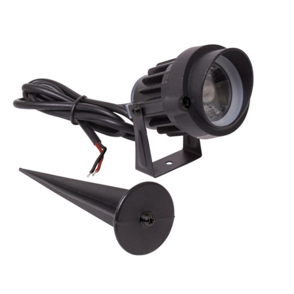 Armacost Lighting Low Voltage 5-Watt Black Integrated LED Soft Bright Landscape Light