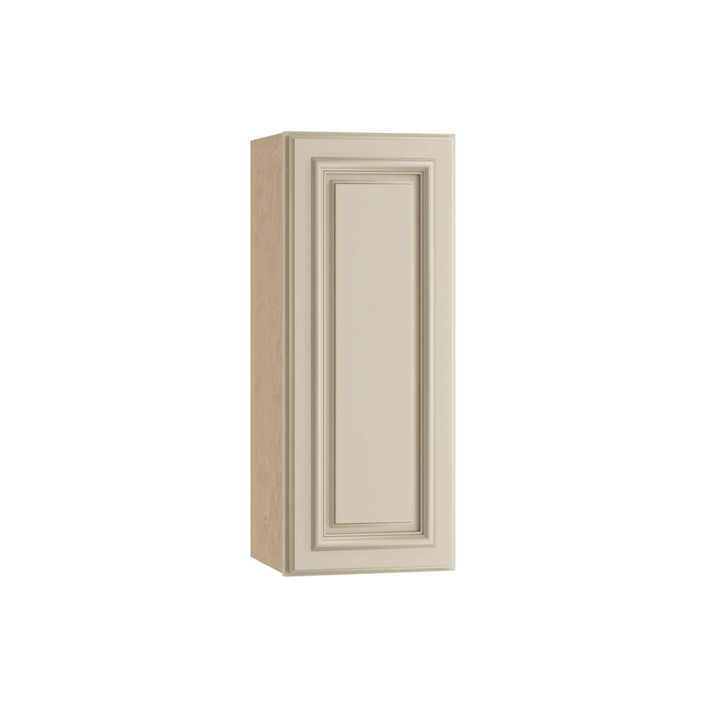 Holden Assembled 15x30x12 in. Single Door Hinge Right Wall Kitchen Cabinet