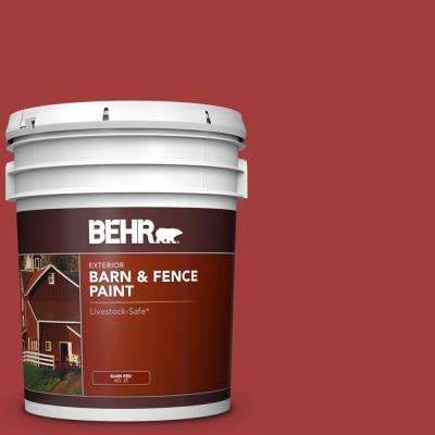 5 Gal. Red Exterior Barn and Fence Paint