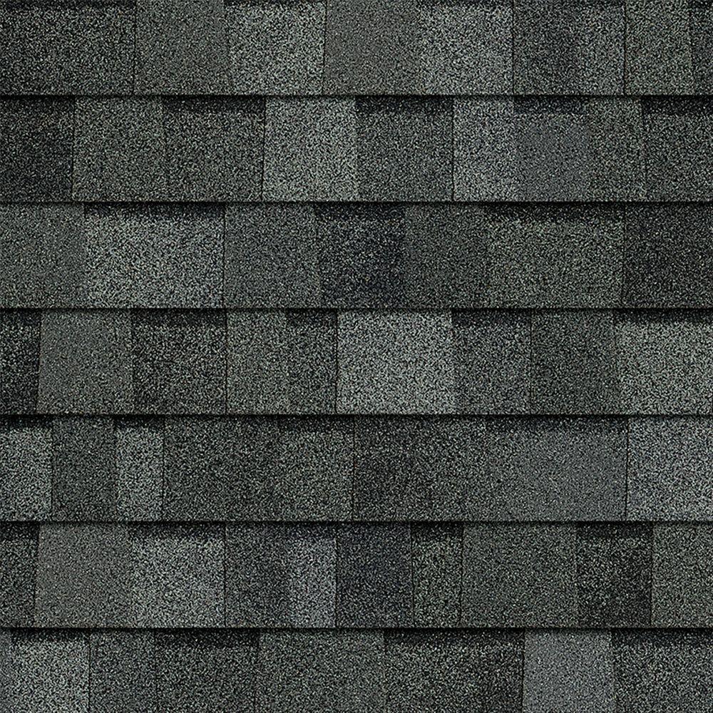 black architectural shingles. Owens Corning TruDefinition Duration Algae Resistant Estate Gray Laminate Architectural Shingles (32.8 Sq. Ft Black