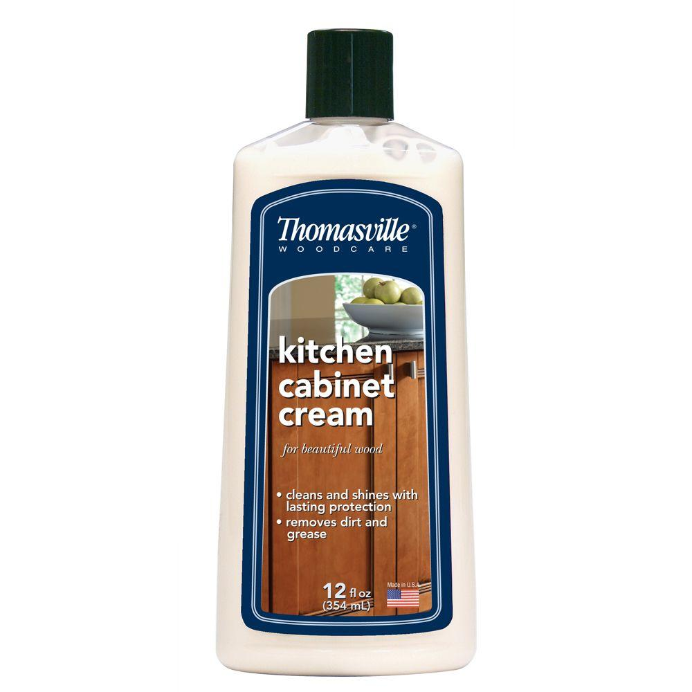 How To Remove Grease From Kitchen Cabinets: Thomasville 12 Oz. Kitchen Cabinet Cream-580469T