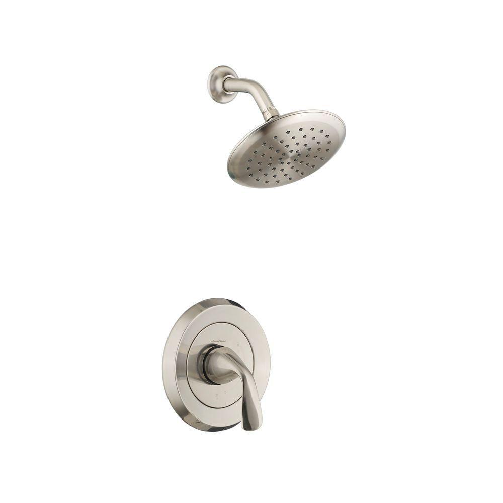 Fluent 1-Handle Shower Only Faucet Trim Kit in Brushed Nickel (Valve