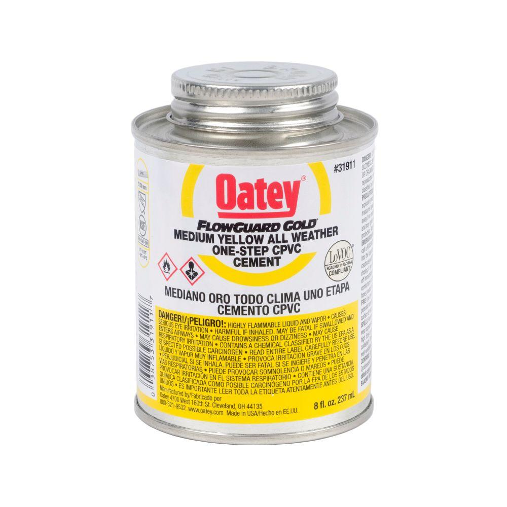 Oatey FlowGuard Gold 8 oz. CPVC 1-Step Cement