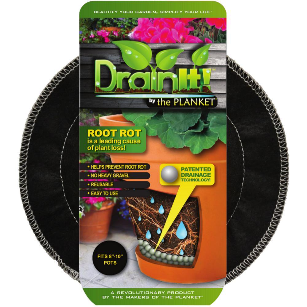8 in. - 10 in. pot easy-flow drain disc