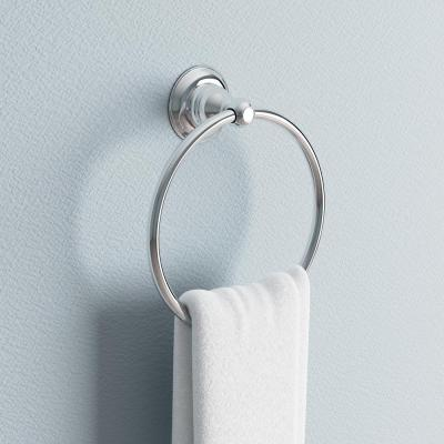 Porter Towel Ring in Polished Chrome