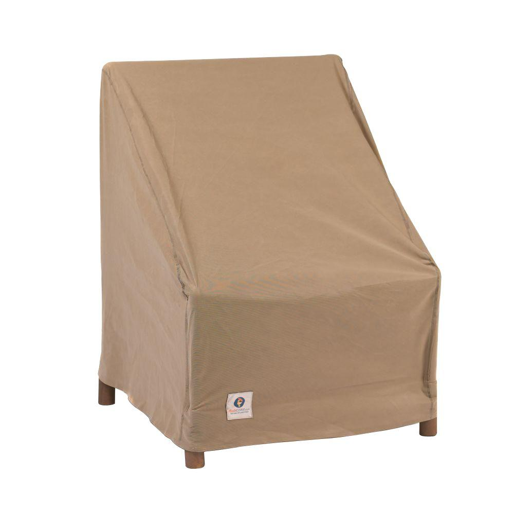 duck covers essential 36 in w patio chair cover ech363736 the rh homedepot com outdoor patio table and chair covers Target Outdoor Patio Chair Covers