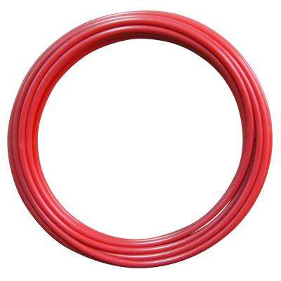 3/4 in. x 100 ft. Red PEX-A Pipe in Solid