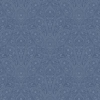 Distressed Paisley Vinyl Peelable Roll (Covers 55 sq. ft.)