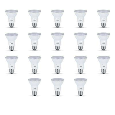50-Watt Equivalent (5000K) PAR20 LED Light Bulb, Daylight (18-Pack Size)