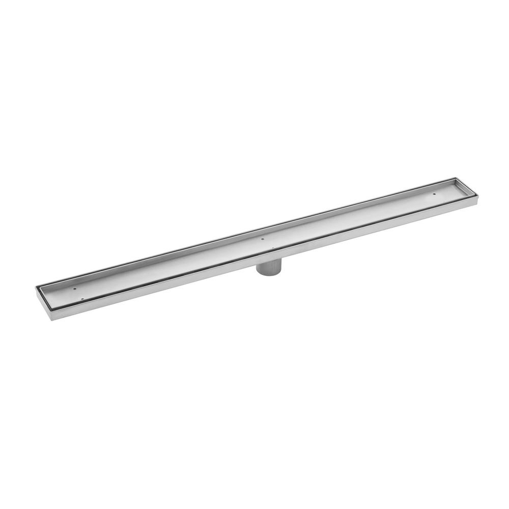 36 in. Stainless Steel Tile Insert Linear Shower Drain