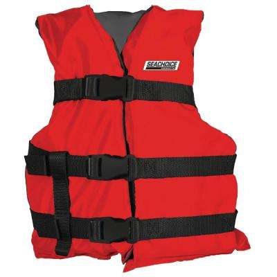 General Purpose Vest for Teen, Red