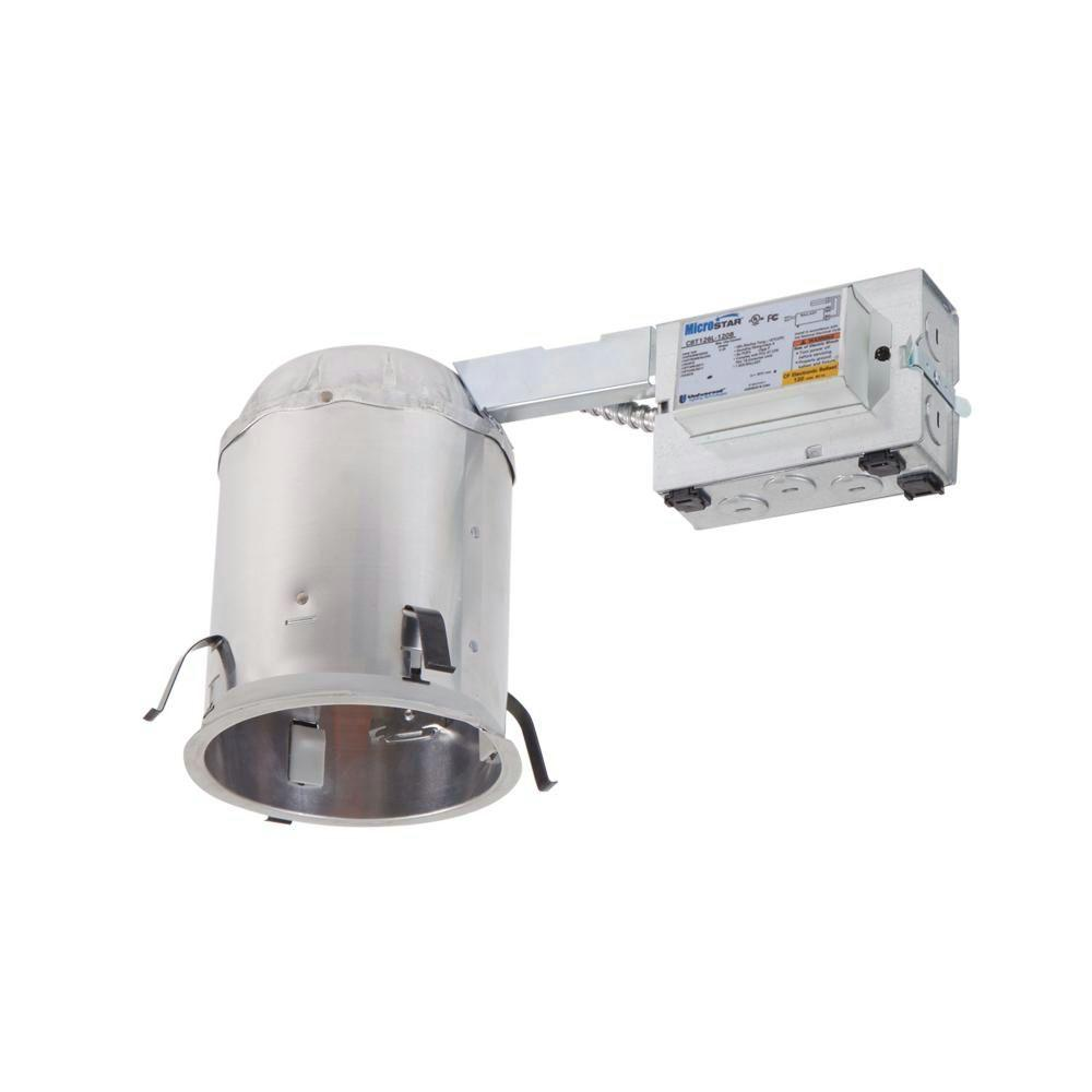H572 5 in. Aluminum CFL Recessed Lighting Housing for Remodel Ceiling,