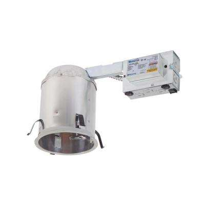 H572 5 in. Aluminum CFL Recessed Lighting Housing for Remodel Ceiling, Insulation Contact, Air-Tite