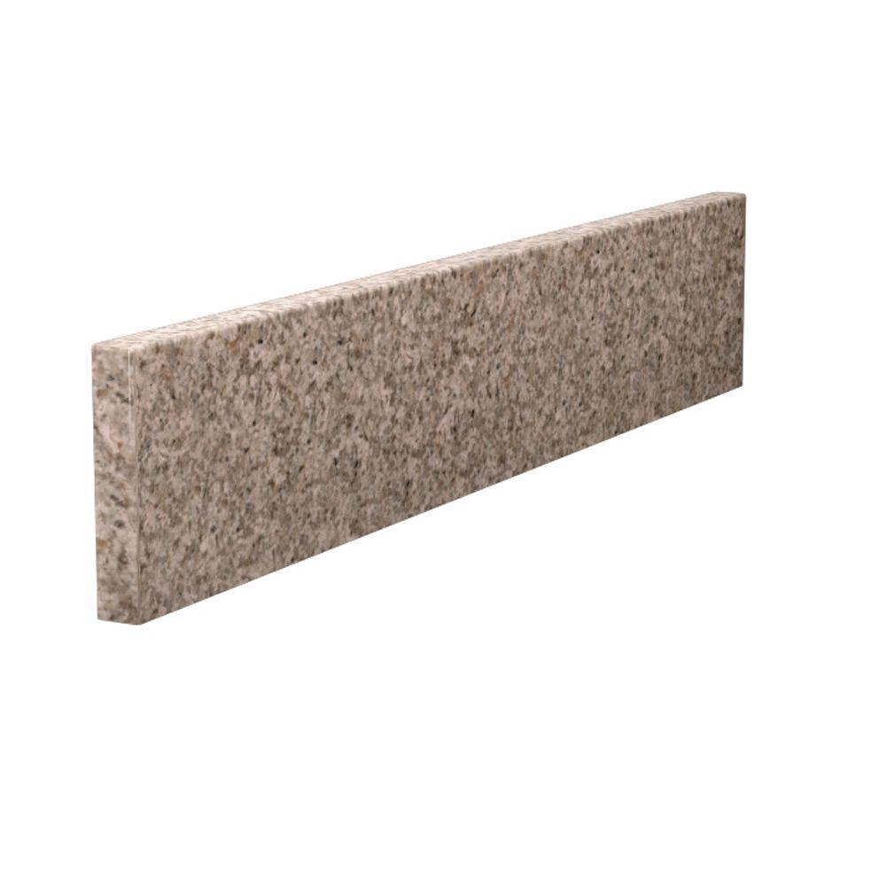 22 in. Granite Sidesplash in Wheat