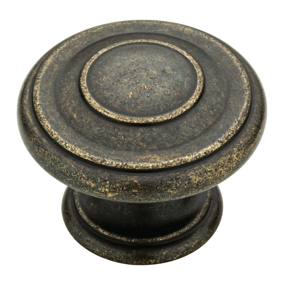 1-3/8 in. Warm Chestnut Harmon Cabinet Knob