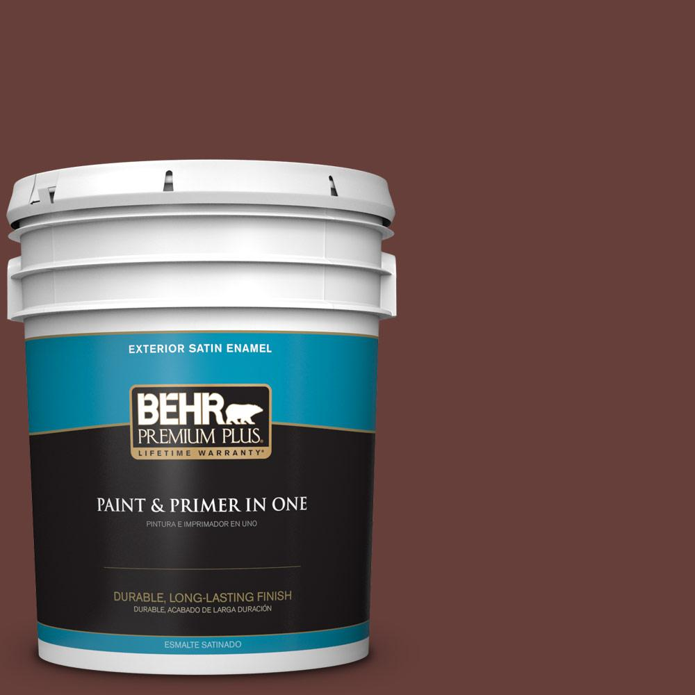 5 gal. #PPU2-01 Chipotle Paste Satin Enamel Exterior Paint