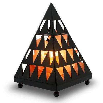 7.8 in. Unique Pyramid Salt Lamp