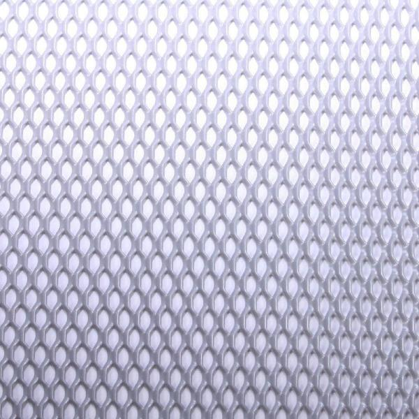36 in. x 48 in. Expandable Aluminum Sheet in Silver
