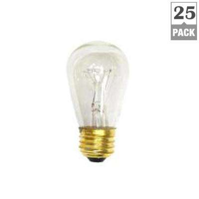 11-Watt S14 Incandescent Light Bulb (25-Pack)