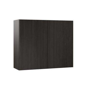 Edgeley Assembled 36x30x12 in. Wall Kitchen Cabinet in Thunder