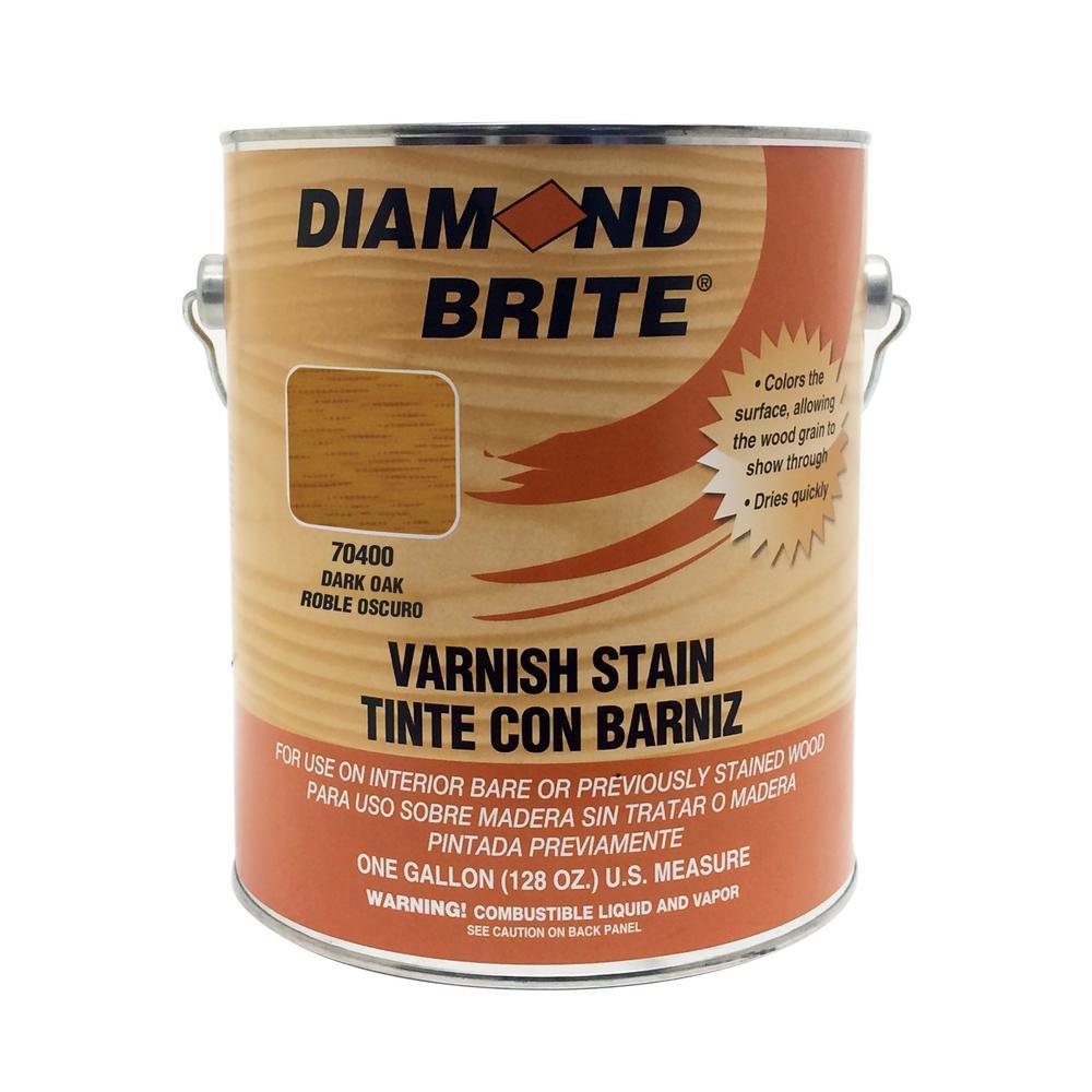 Diamond Brite Paint 1 Gal Dark Oak Oil Based Interior