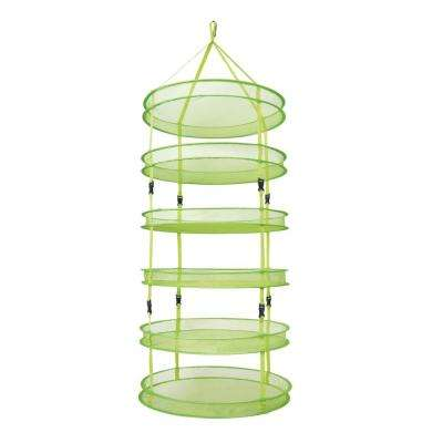 Dry Net Hanging Herb Drying Rack with 6 Tiers