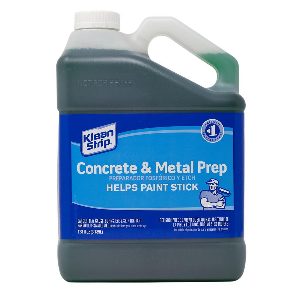 Klean-Strip 1 Gal. Concrete Etch & Metal Prep + Rust Inhibitor