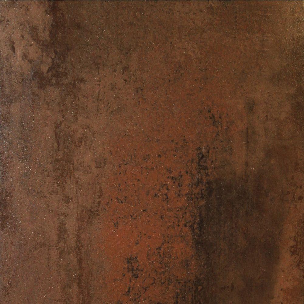 Antares Jupiter Iron 20 In X Glazed Porcelain Floor And Wall Tile 11 12 Sq Ft Case