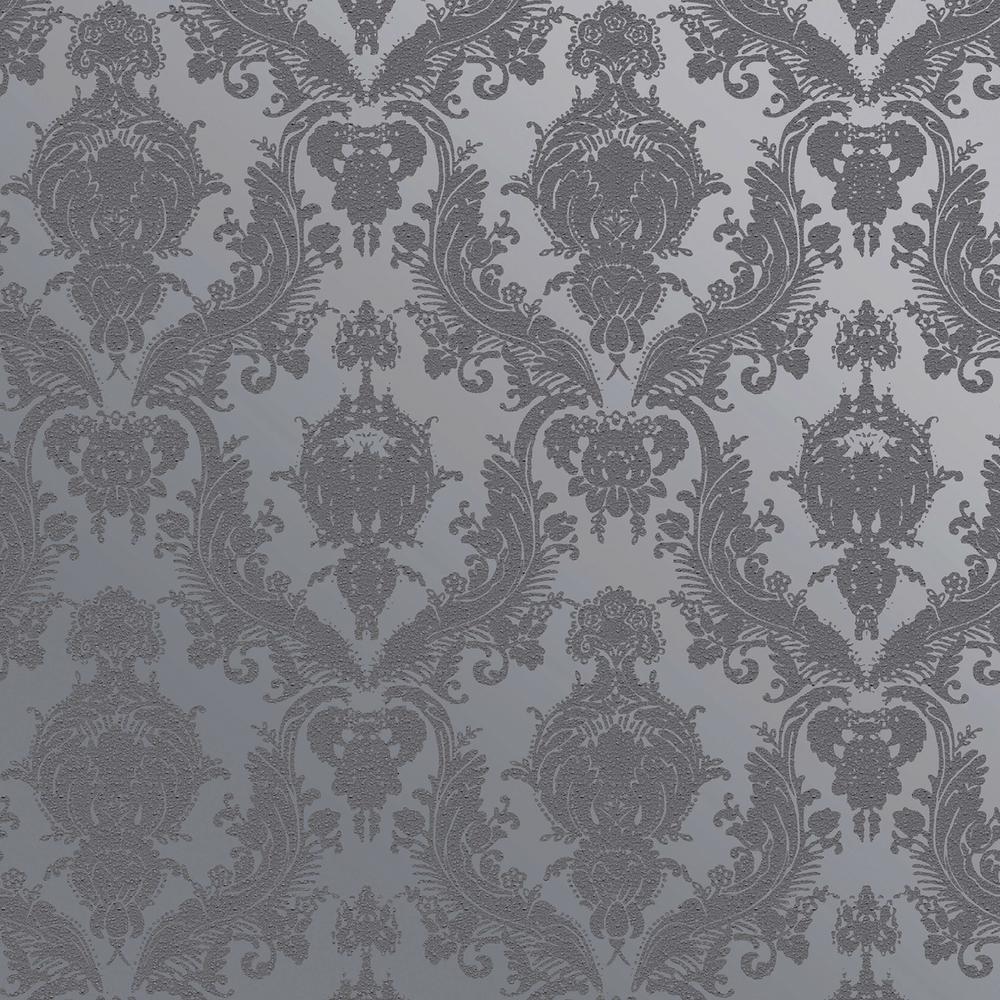 Damsel Blue Pearl Self-Adhesive Removable Wallpaper