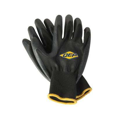 SureGrip 1-Size-Fits-Most Heavy-Duty Tiler's Gloves for Better Grip in Wet Conditions (2-Pair)