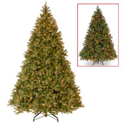 PowerConnect Downswept Douglas Fir Artificial Christmas Tree with Dual  Color LED Lights - Multi Colors - Pre-Lit Christmas Trees - Artificial Christmas Trees