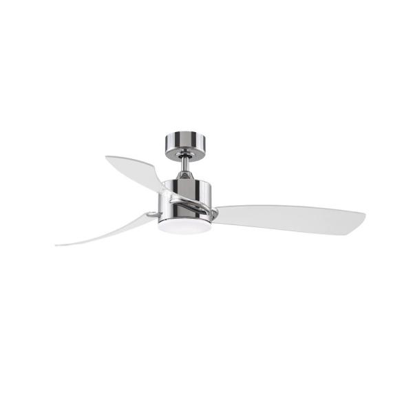 Integrated Led Chrome Ceiling Fan