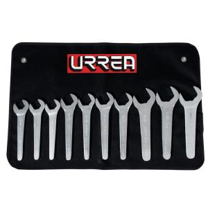 URREA 19mm to 38mm Metric Service Wrench Set (10-Piece) by URREA