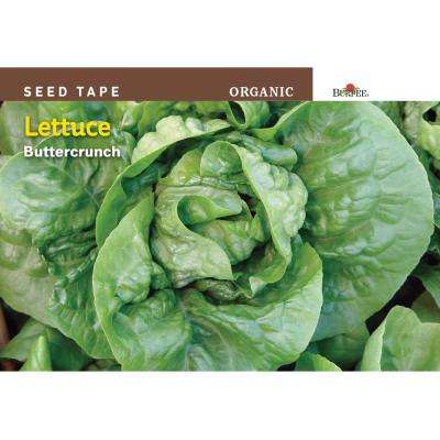 Lettuce Butter-Crunch Organic Seed Tape